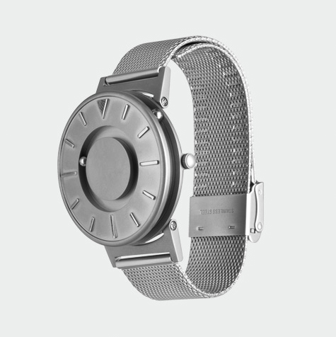 Bradley, Timepiece, watch, universal, design, modern, impaired, touch, tactile